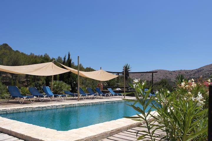 Villa de 6 chambres à Finestrat, avec magnifique vue sur la montagne, piscine privée et jardin aménagé - à 8 km de la plage
