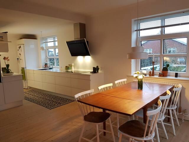 Skønt hus med træterasse,perfekt til Dana cup - Hjørring - House