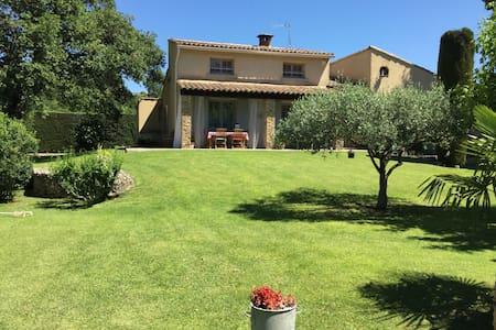 Villa provençale avec piscine - Saint-Quentin-la-Poterie