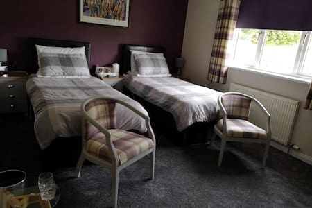 Room only. 1 Twin room en suite, sleeps 2