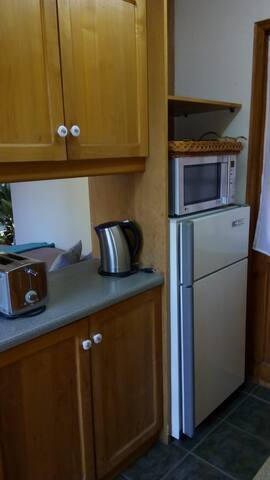 Cocina equipada para 4 personas