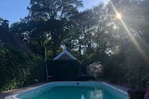 Beautiful renovated barn with pool