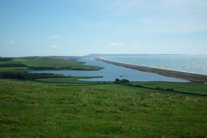 Drive along the coast road to find The Fleet where the bouncing bomb was tested and the famous Abbotsbury sub tropical gardens and swannery can be found, a little further along the coast is Portland.