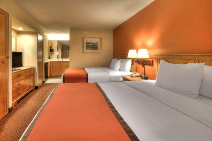 Tasteful Double Two Double Beds Non Smoking At Pigeon Forge