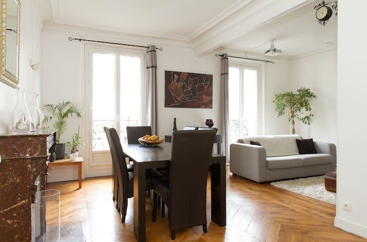Très bel appartement dans Paris proche de tout - Paris - Apartamento