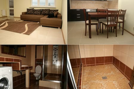 Warsaw Modlin Airport Apartment 60m (6p)