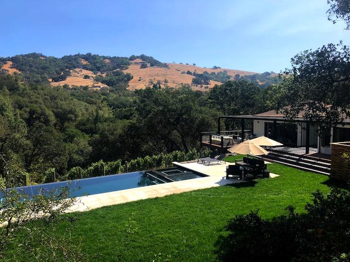 Sonoma Vineyard Estate, Pool, Spa, Bikes