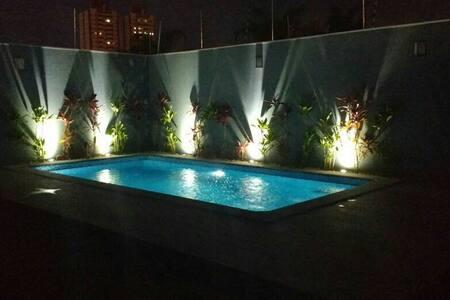 Location/AirCon/CableTV/Pool - Campo Grande - Casa