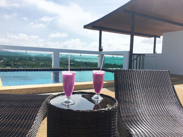 Penthouse with private rooftop pool / Sky 2 - Tambon Rawai