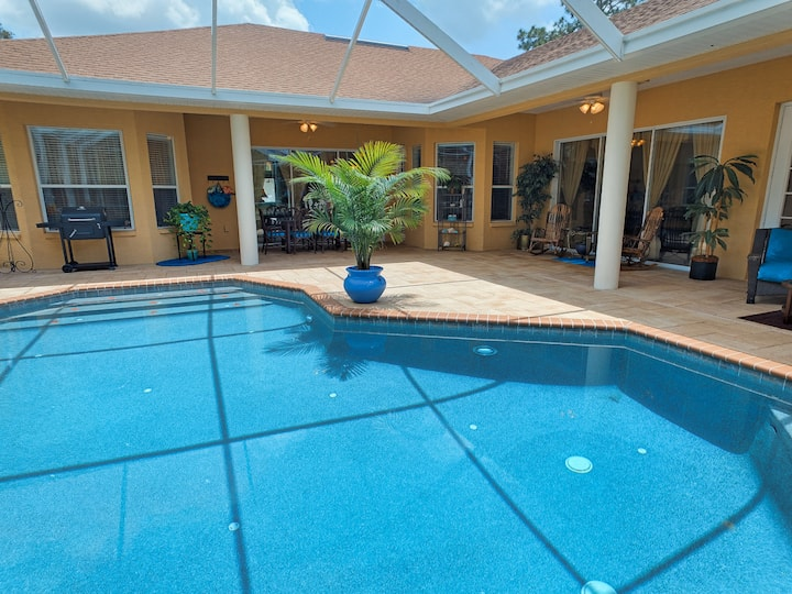 Private luxurious sanctuary. Heatd pool/spa 2acres
