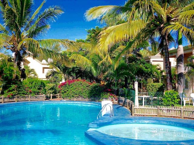 Maison bord de mer et piscine (19) - Flic en Flac - Ev