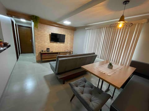 Apartamento Inteiro - Moderno e Aconchegante