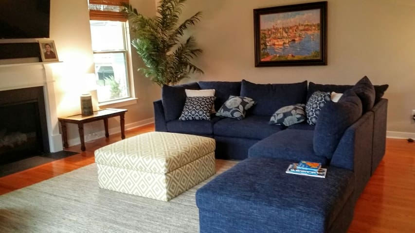 Prv furnished basement/bed & bath near DC/Quantico - Dumfries - House
