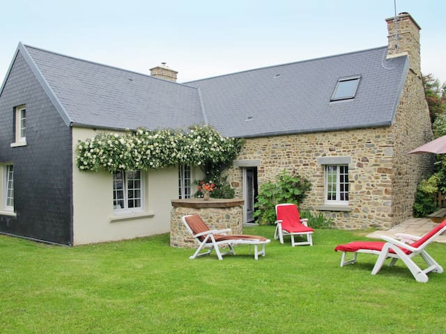 Holiday home in Créances for 6 persons
