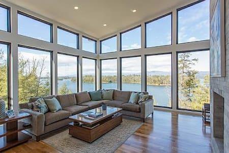 Luxurious Waterfront Home on Lake James NC - Morganton - Talo