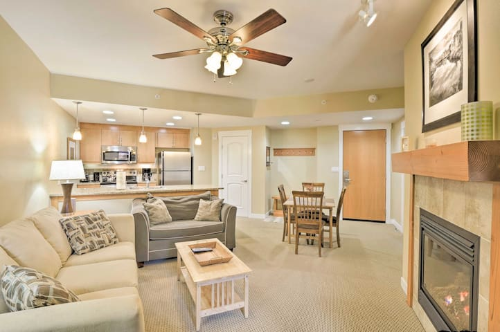 Mtn-View Condo Steps from Winter Park Gondola!