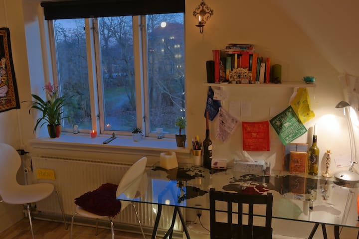 Private cozy room in a shared house :) - Roskilde - บ้าน