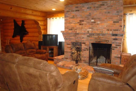 Private log cottage on 2 acres