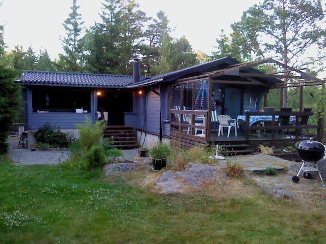 Stora & lilla huset vid havet Väddö - Norrtälje N