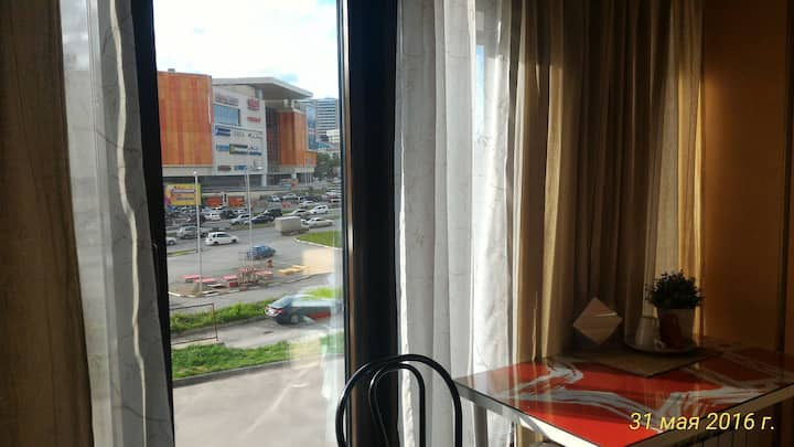 Double room in the center of Novosibirsk