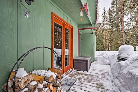!!Cozy Breck Cabin 10 Mins to Pk 9 & free bus!!