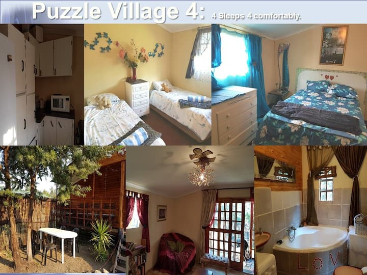 Puzzle Village Self Cater & Spa: 18km from Jhb u4