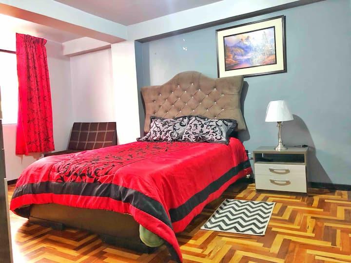 Affordable, Modern 2 Bedroom Near Plaza De Armas D