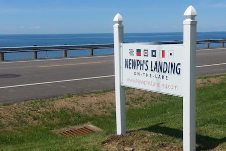 Newph's Landing on the Lake