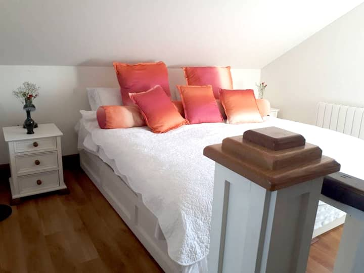 Leilighet med ett soverom i Galway med fantastisk utsikt over byen, balkong og Wi-Fi - 1 km fra stranden