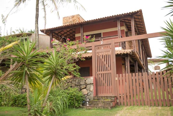 Casa em Setiba, de frente para o mar!!