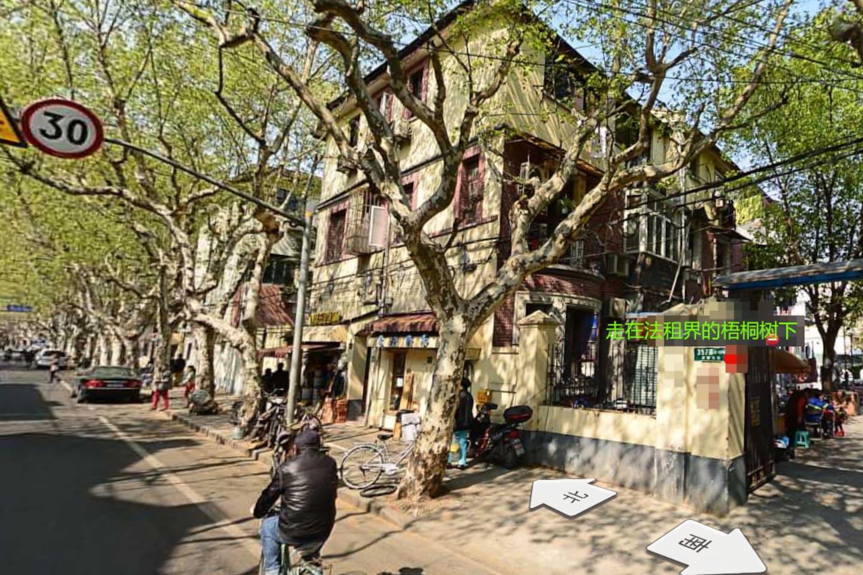 梧桐树下感受老上海的弄堂文化