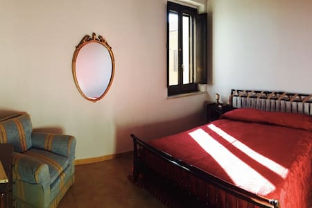 "The ""Terra Rossa"" room"