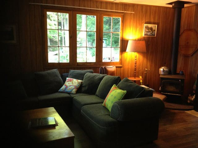 Vintage Haliburton Lakefront Cottage Escape - Algonquin Highlands - Mökki