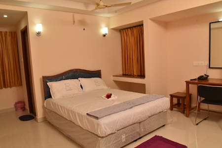 Ananda Residency - ( Budget Double AC Room)