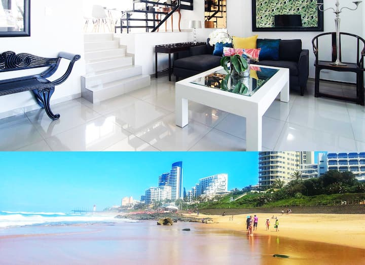 Umhlanga Beach Luxury unit Dstv Wifi Netflix Pool