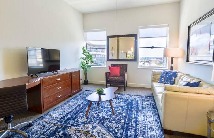 Modern Spacious 2 Bedroom Apt in Downtown Dallas