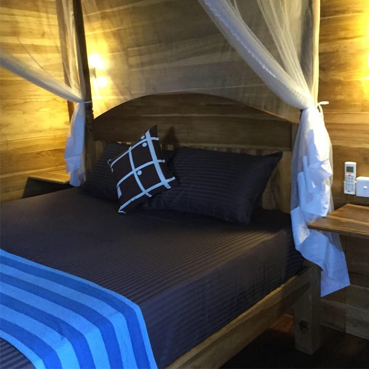 Deluxe Chalet with Lagoon View & Air Con