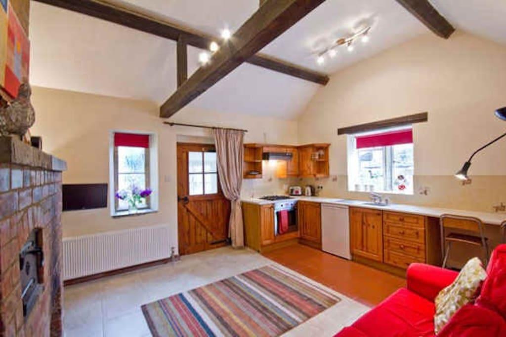 Kitchen/Sitting/Dining Room