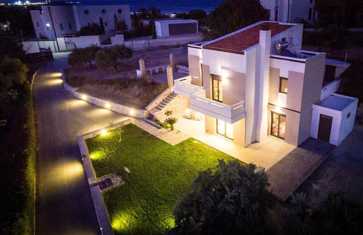 Fly view Villa 2 Rhodes - Rodos - 別荘