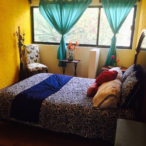 Bonita habitación en casa hermosa - Mexiko-Stadt