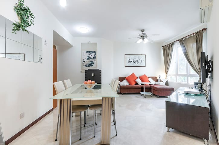 Cozy Changi 2BR condo apartment near Expo/CBP/SUTD