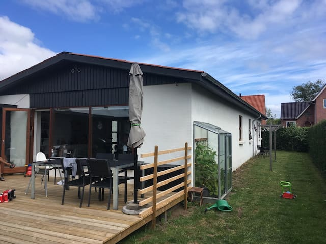 Lækkert familiehus centralt i Horsens