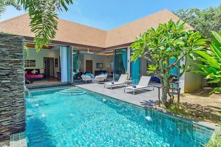 Resplendent High-Luxury Pool Villa, 2 rms, Naiharn
