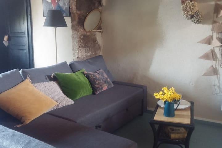 little home dans le vieux Chomérac : 2 chambres - Chomérac