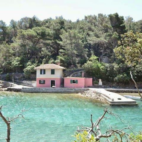 Casetta rosa sul mare - Sveti Jakov  - Hus