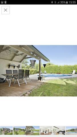 Hus med stor privat pool - Åstorp - Casa