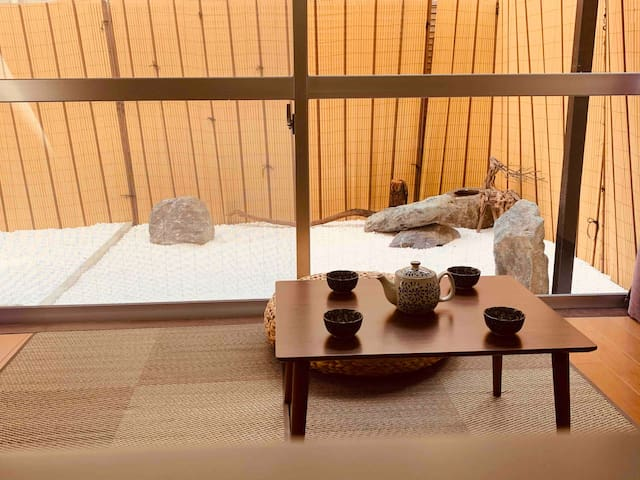 Japanese garden house.2min to sta/8min to shinjuku