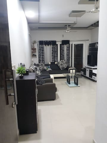Entire 2BHK Furnished Flat with Modern Amnities