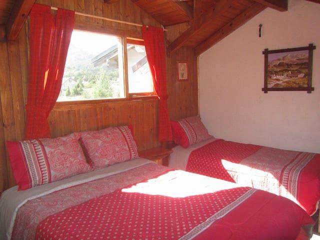 Cabañas valle encantado villa meliquina.