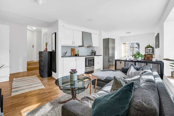Modern apartment in the middle of Oslo centrum
